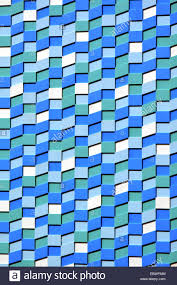 blue white and green wall tiles abstract texture background