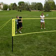 amazon com park u0026 sun sports portable indoor outdoor badminton