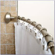 Shower Curtain Rod Round - round shower curtain rod canada curtain home design ideas