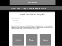 basic html templates