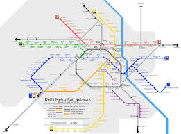 Red Line Metro Map Delhi Metro Rail Map The Red Confidential