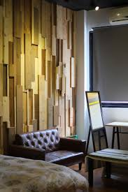 wood wall design re wood guesthouse by lee