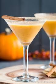 pumpkin pie martini with recipe no spoon necessary