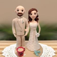 bald groom cake topper thirty wedding cake toppers let you remember many