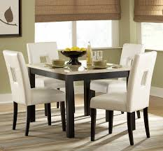 White Table Set - kitchen table cool cheap dining table faux marble dining table