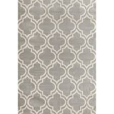 world rug gallery modern moroccan trellis gray 7 ft 6 in x 9 ft