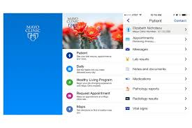 mayo clinic help desk the mayo clinic app what every patient app should be