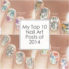 my top 10 nail art posts of 2014 will paint nails for food