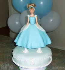 cinderella cake 3d cinderella doll cake fit for a princess oh my sugar high