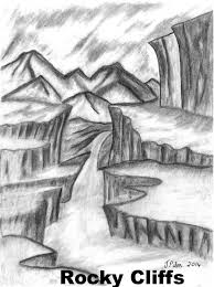 pencil sketches nature scene tag beautiful pencil drawings of