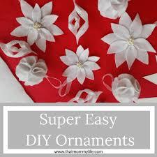 easy diy ornaments that