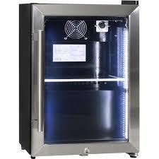 mini bar refrigerator glass door shallow depth mini bar fridge schmick brand with triple glazing