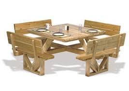 build a picnic table square picnic table plan picnic table plans picnic tables and