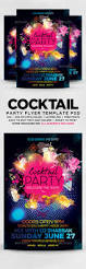 cocktail party flyer by designblend graphicriver