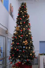 fully decorated trees for sale decor and light