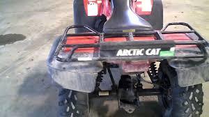 lot 1148a 2001 arctic cat 500 4x4 atv manual transmission 1572