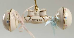 lenox baby s rattle at replacements ltd