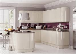 White High Gloss Kitchen Cabinets High Gloss Kitchen Cabinets Elegant Single Wall Gray Kitchen With