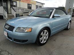 audi convertible 2006 2006 audi a4 1 8t 2dr convertible in houston tx talisman motor city
