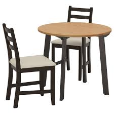 ikea black brown dining table ikea breakfast table sets home furniture design kitchenagenda com