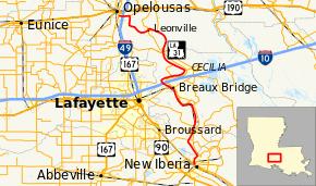 louisiana highway map louisiana highway 31
