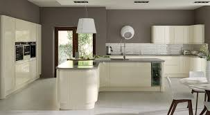 The Kitchen Collection Strada Handleless Lacquer Gloss Ivory