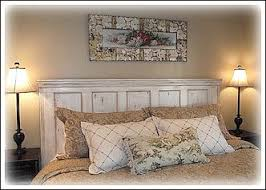 this headboard is one of my favorite cottage style decorating