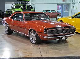 burnt orange camaro 1968 chevrolet camaro 2 door custom coupe 111273