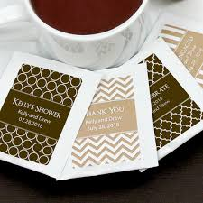 personalized tea bags personalized tea bag favors many designs