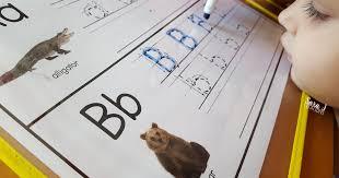 letter b activities sara j creations