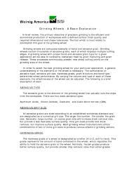 Laborer Resume Examples by Grinding Wheels Designation Grinding Abrasive Cutting Abrasive