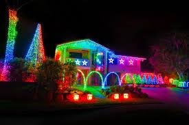 interesting decoration christmas light houses beautiful lights on