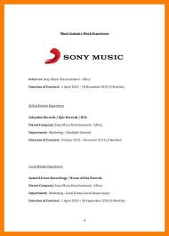 music industry resume hitecauto us
