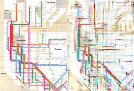 New York Rail Map by Can Science Untangle Our Transit Maps Science Friday