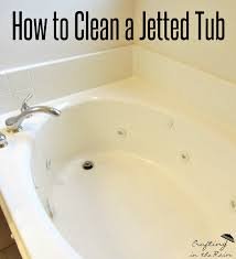 How To Clean A Bathtub Drain How To Clean A Jetted Tub Crafting In The Rain