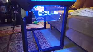 Pc Gaming Desks by E Blue Gaming Desk Youtube