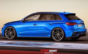 audi rs3 blue audi rs3 sportback concepts are perfection in blue motor1 com photos