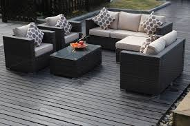 8 Seater Patio Table And Chairs 8 Seater Black New Rattan Garden Furniture Sofa Set Furniture Maxi