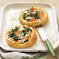 salmon spinach and cream cheese tarts recipes pinterest