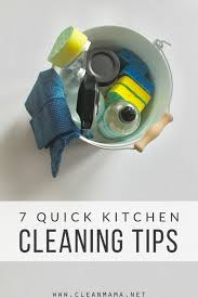 cleaning tips for kitchen 7 quick kitchen cleaning tips clean mama