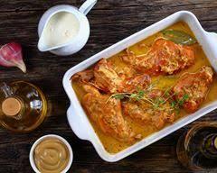 cuisiner lapin au four recette lapin au four à la moutarde facile rapide