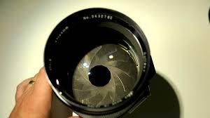 soligor 135 f 1 5 lens blades youtube