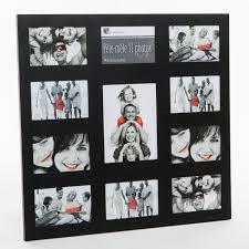 cadre photo pêle mêle mural coloris noir capacità 11 photos neuf