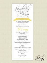 wedding reception programs the 25 best wedding reception program ideas on shoe