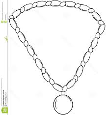 necklace coloring pages the best necklace