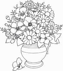 free coloring colouring in pages flowers