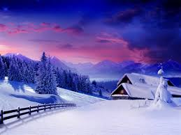 beautiful winter snow background 6910847