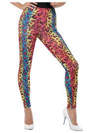 cheetah halloween costumes women u0027s neon leopard print leggings