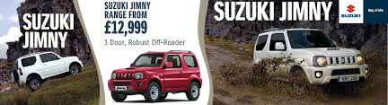 suzuki jimny suzuki jimny new and used suzuki car dealers in isle of wight