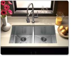 Houzer CTD Contempo Series Undermount Stainless Steel - Square sinks kitchen